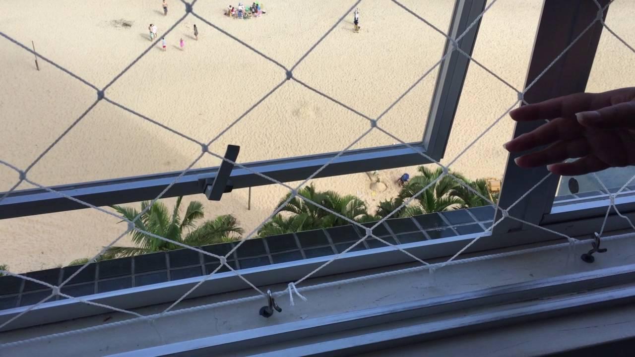 redes de proteção janelas